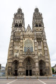 Cathedral Saint Gatianus in Tours — Stock Photo