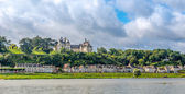 Chateau of Chaumont is located on the river Loire. — Zdjęcie stockowe