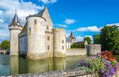 Chateau of Sully sur Loire — Zdjęcie stockowe