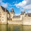 View at the chateau Sully sur Loire across moat — Stock Photo #55232383