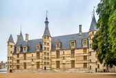 View at the Ducal palce in Nevers — Stock Photo