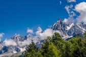 The Aiguille du Midi — Stock Photo