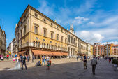 Building at the piazza Signiori in Vicenza — Stock Photo