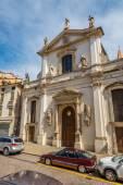 Church Santa Maria dei Servi in Vicenza — Stock Photo