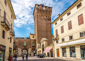 Porta Castello Tower in Vicenza — Stock Photo