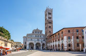 Cathedral of Lucca - Italy — Stock Photo