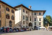 Buildings at the Knights Square in Pisa — Stock Photo