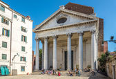 Kościół San Nicolo da Tolentino w Wenecji — Zdjęcie stockowe