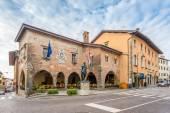 City hall in Cividale del Friuli — Stock Photo