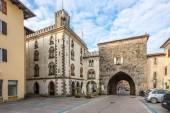 Porta San Pietro in Cividale del Friuli — Stock Photo