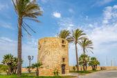 Watchtower in Alghero — Stock Photo