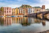 View at the Bosa in Sardinia — Stock fotografie