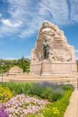 Memorial of Mormon Battalion in Salt Lake City — Stock Photo