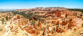 Panoramic view from Sunrise point in Bryce Canyon — Stock Photo