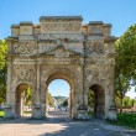 ������, ������: Ancient Roman Triumphal Arch of Orange France