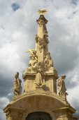 The historic baroque column. — Stock Photo