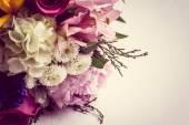 Rustic bouquet — Stock Photo