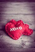 Valentines day ornaments — Stockfoto