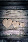 Valentines day ornaments — Stock Photo