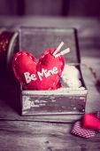 Valentines day ornaments — Stock fotografie