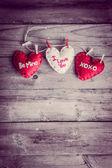 Walentynki ozdoby — Zdjęcie stockowe