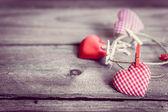 Valentines day ornaments — Foto Stock