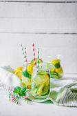 Water with citrus — Stock Photo