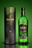 Thailand, Bangkok - July 10, 2014: Photo of a bottle of Glenfidd — Stock Photo