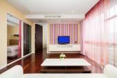 Hotel ložnice — Stock fotografie