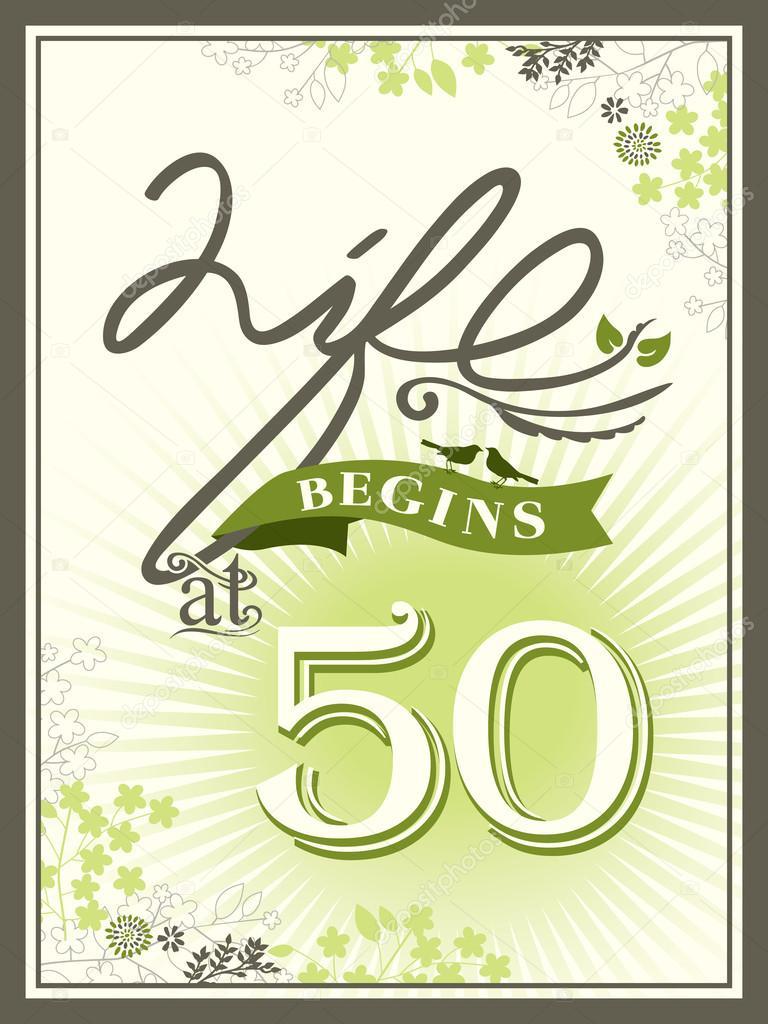 Fødselsdagssang 50 år kvinde