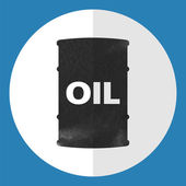 Barrel of oil icon. — Stockvector