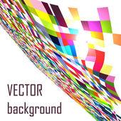 Abstrakt utforska torget mosaik vektor bakgrund — Stockvektor