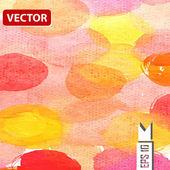 Watercolor vector background. Hand drawing. — Vecteur