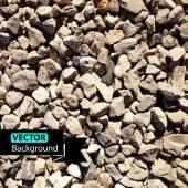 Vector grey pebbles background. — Stock Vector