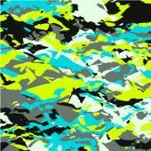 Decorative retro colored vector squares. — Stock Vector