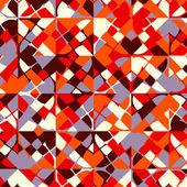 抽象几何五彩马赛克背景. — 图库矢量图片