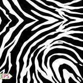 Vector zebra background with black stripes. — Stock Vector
