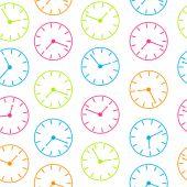 时间抽象矢量背景图 — 图库照片