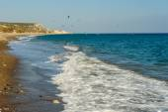 Seaside and kites — Foto Stock