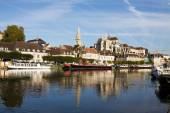 Cityscape in Auxerre, France — Stock Photo