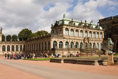 The French pavilion in the Zwinger — Stock Photo