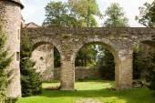 The bridge in the Polish Czocha Castle — Foto de Stock