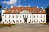 The palace of Nieborow estate in Poland, view from the forecourt — Stock Photo