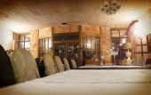 The interior of a luxury restaurant — Stock Photo