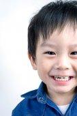 Portrait of Happy Asian child — Stock Photo