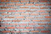 Vecchio muro di mattoni arancione — Foto Stock