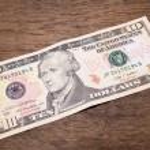 Dollars bank note — Stock Photo #65872529