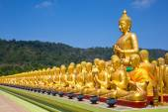 Altın buddha, Tayland — Stok fotoğraf