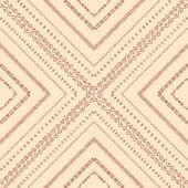 Geometric tiles of rhombuses. Seamless pattern. — Vector de stock