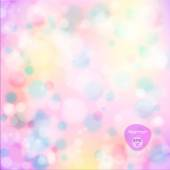 Vector illustration of soft colored abstract background. Elegant abstract background with bokeh lights and stars.  Holiday Abstract Glitter Defocused Background With Blinking Stars. Blurred Bokeh. — Stock Vector